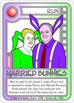 Married Bunnies Card